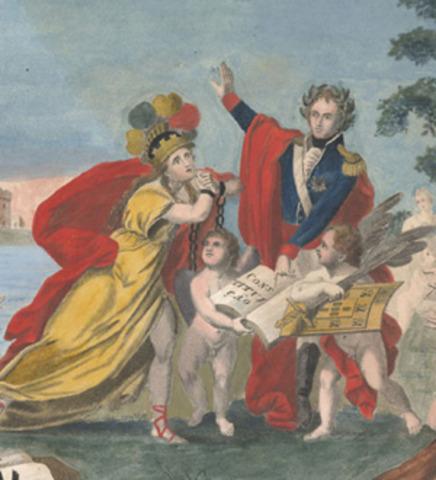 Promulgação da Constituição Francesa e procalamação da Monarquia Constitucional