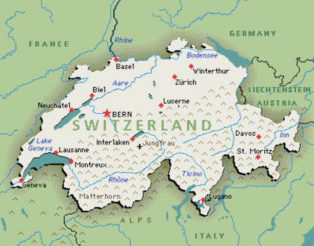 Switzerland, traditionally a neutral country, joins the United Nations.
