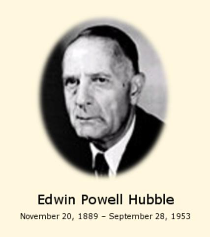 Edwin Hubble dies of a stroke in San Marino California