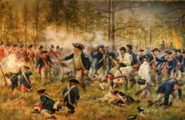 British take over Charleston