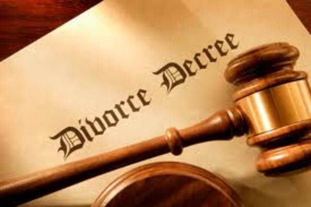 My parents decide to get divorced