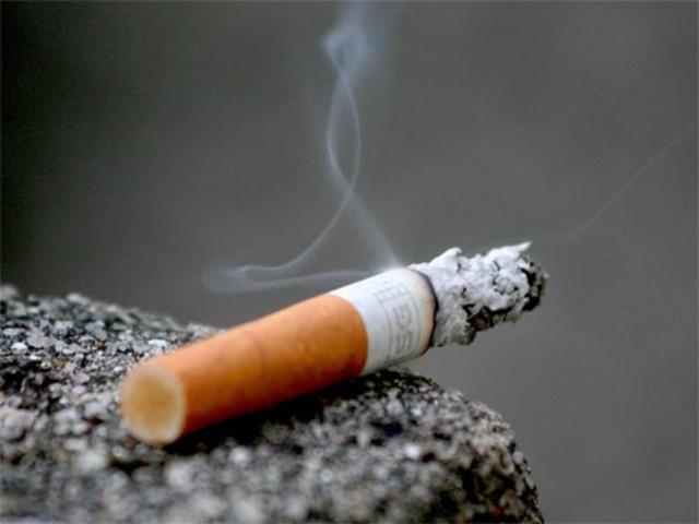 I started smoking