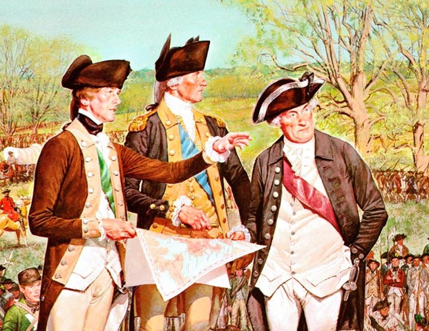 Creation of the Continental Army