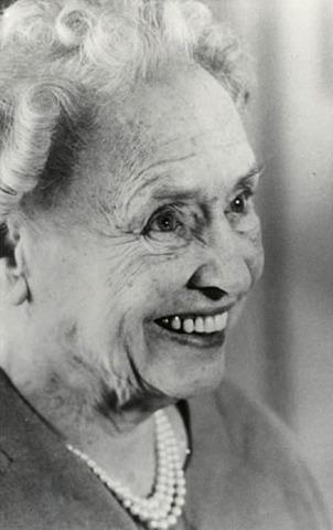 Helen Keller dies