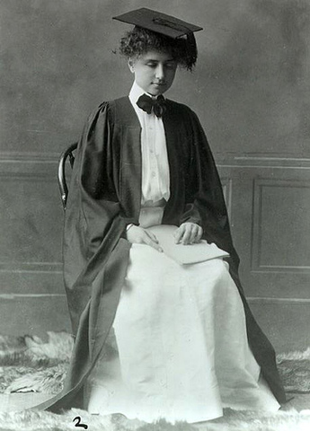 Helen graduated from Radcliffe College