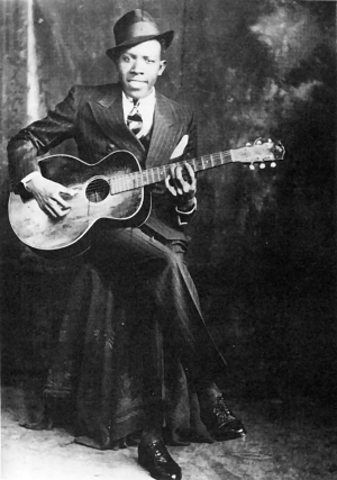 Robert Johnson's first recordings