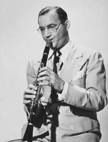 Benny Goodman sparks swing music craze