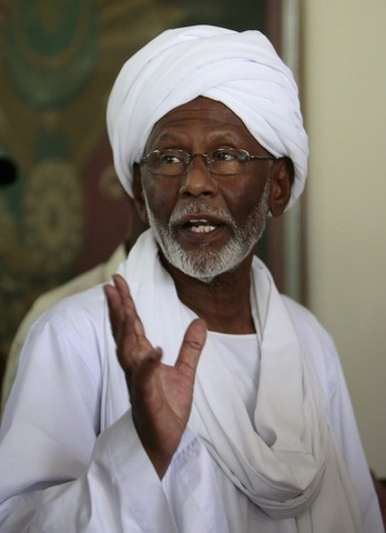 Turabi Released from Detention
