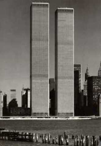 The World Trade Center is completed