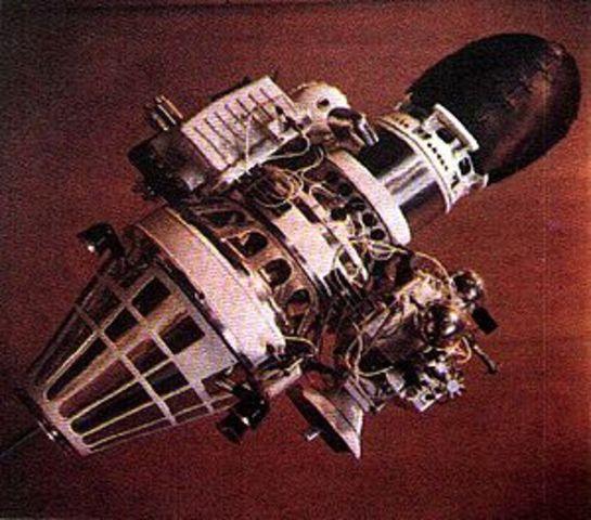 Luna 9 Lunar Lander