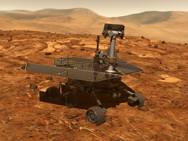 Spirit (MER-A): Mars Rover