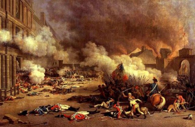 Storming of Tuileries (Christian Brunner)