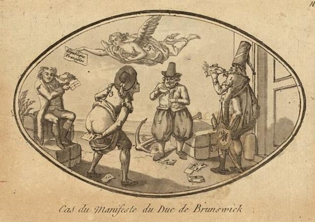 The Brunswick Declaration of Manifesto (1792)