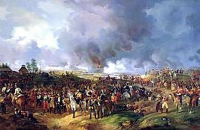 Battle of Leipzig (16-19 October 1813)