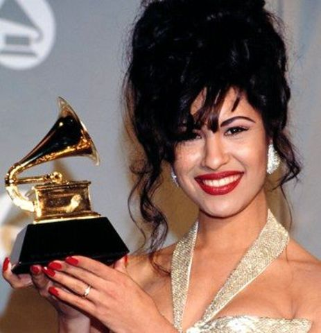 1993 Selena wins Grammy award for best Mexican American