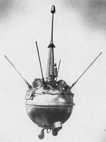 Luna 2,Lunar Landing