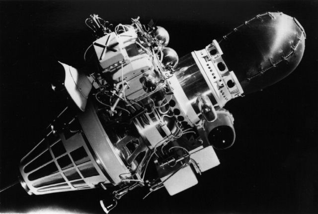 Luna 9, Lunar landing