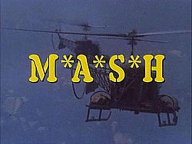 M*A*S*H* T.V. show premiers
