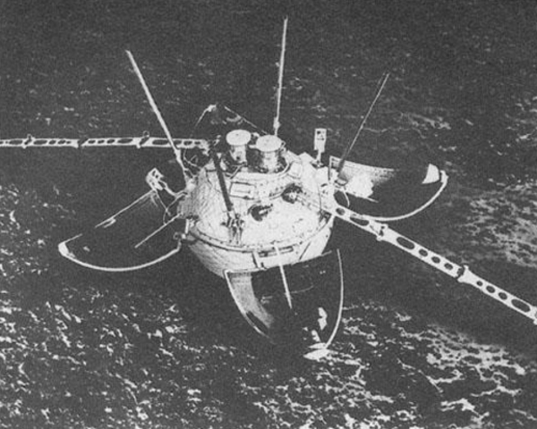 Luna 13, Lunar landing