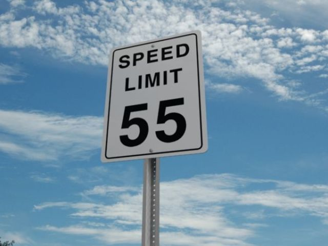 National Speed Limit Raised to 55