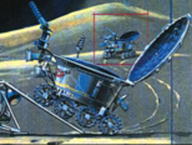 Luna 21, Lunar landind