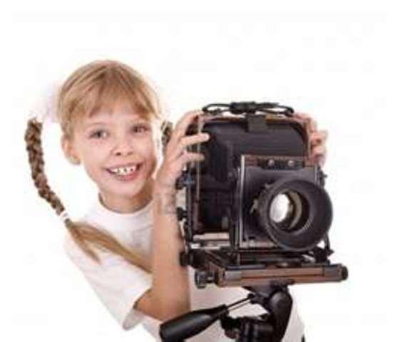 Cuando yo tenía diez años, yo cotaba chistes, yo sacaba fotos mucho, y yo decía la verdad.