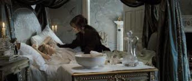 Jane falls ill at Netherfield