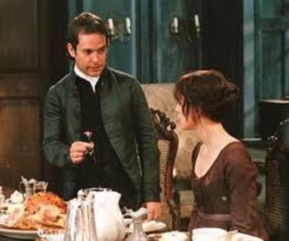 Mr. Collins proposes to Elizabeth