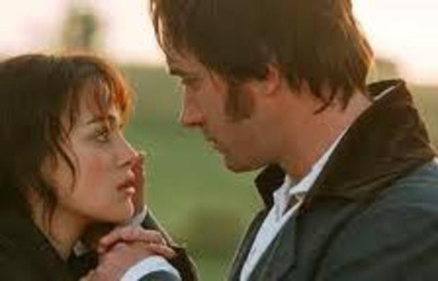 Darcy proposes to Elizabeth