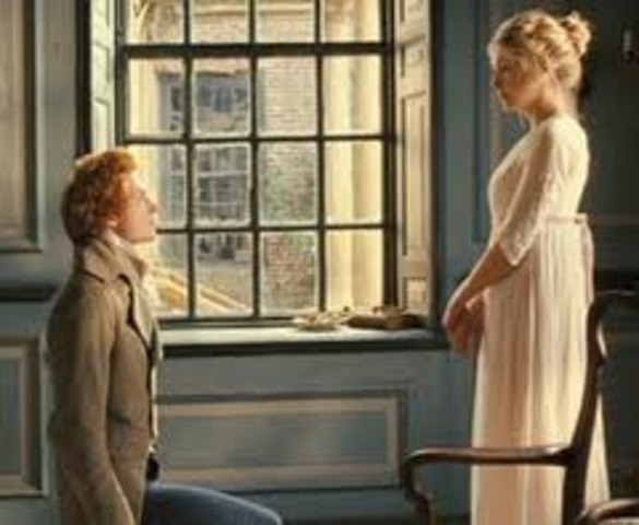 Mr. Bingley proposes to Jane