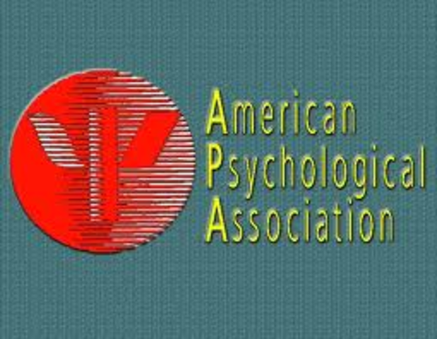 Became the president of the American Psychological Association
