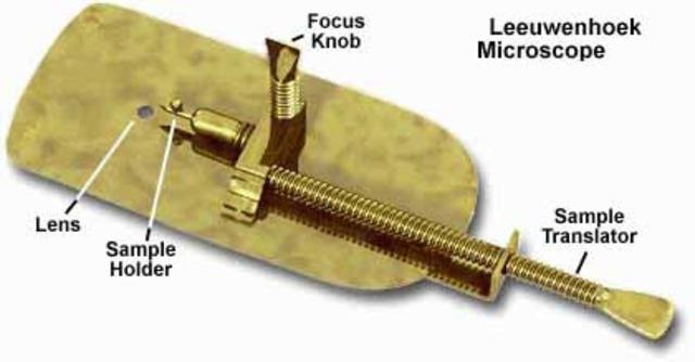 Anton Von Leeuwenhoek's Simple Microscope