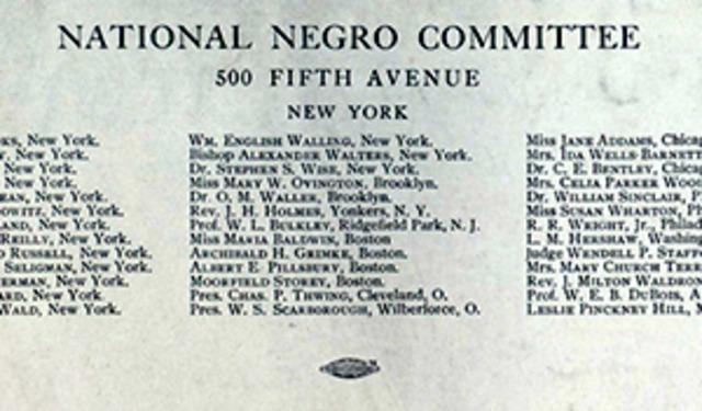 National Negro Committee