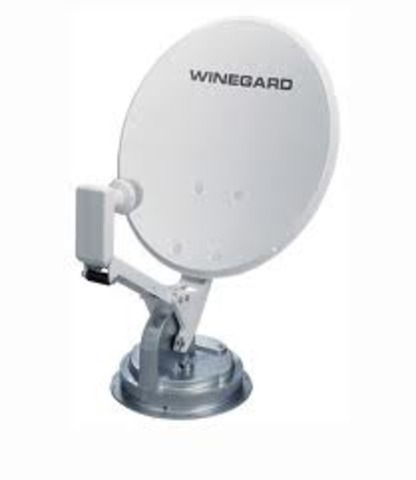 Digital satellite dishes that are only 18 inches in diameter hit the market