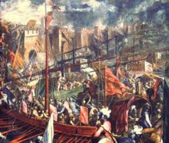 Turks capture Constantinople