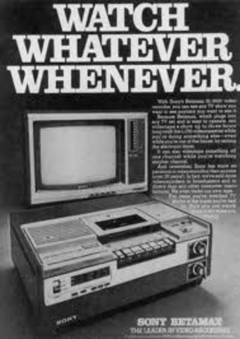 •VCRs Introduced