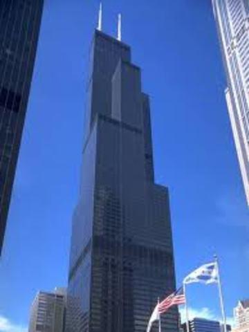 •Sears Tower Built