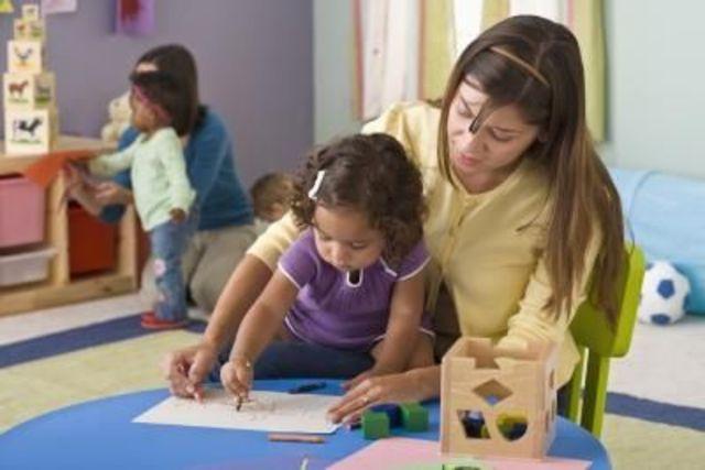 Cuando yo tenía cuatro años, yo iba a la guardería infantil porque mis padres trabajaban,