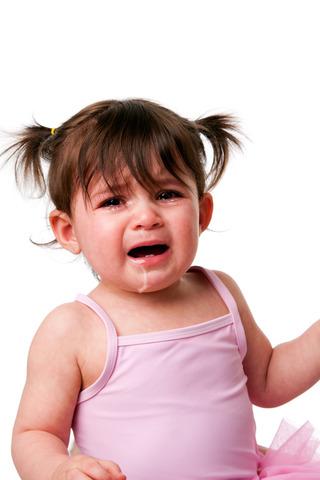 Cuando yo tenía cinco años, yo lloraba mucho porque era desobediente,