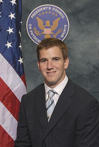 Eli Manning is born