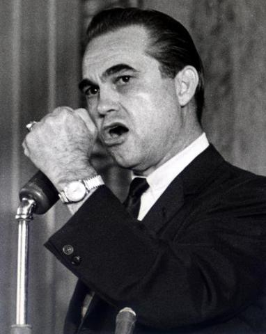 George Wallace Shot while campaigning