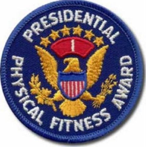 Received the Presidential Physical Fitness Award (Biosocial)