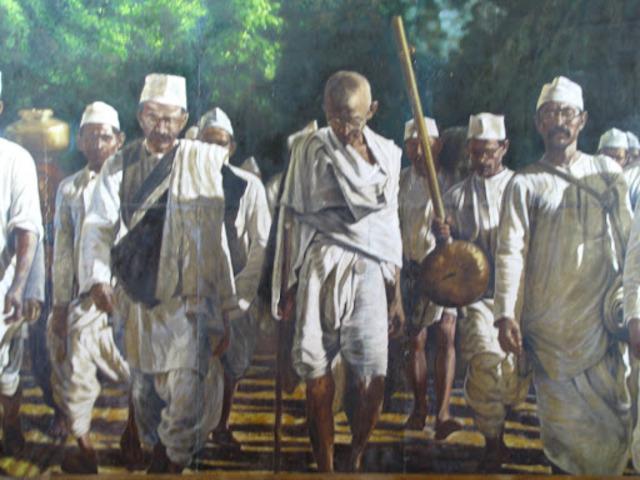 Dandi march (salt march)
