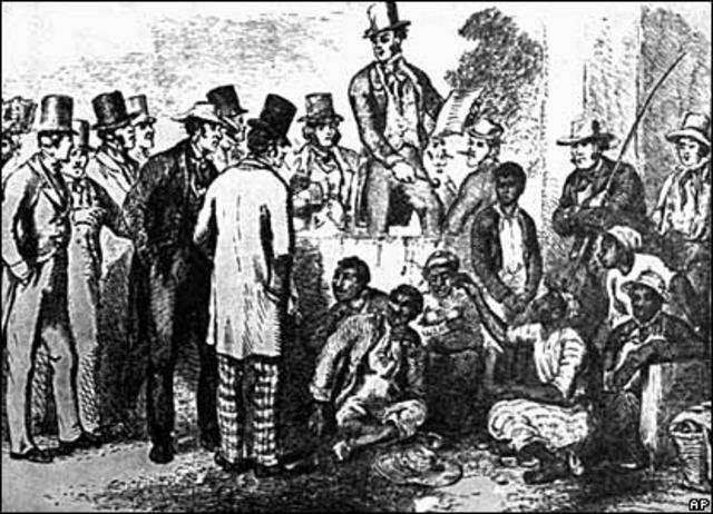 Slave Market in NYC
