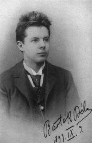 Neix Béla Bartók