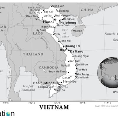 Vietnam - 1940 - 1975  timeline