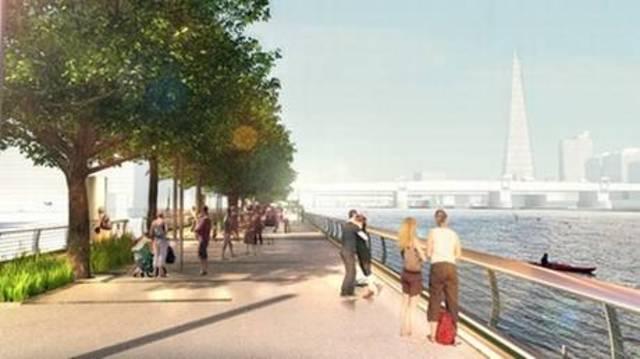 Safety concerns could torpedo £60m Thames floating park