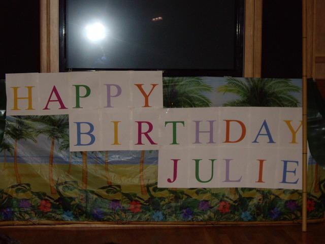 Julie's Birthday!