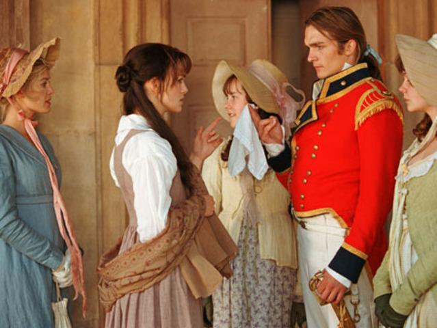 Elizabeth meets Mr. Wickham