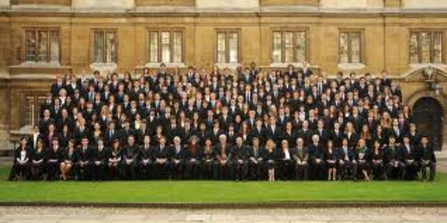 Graduated Clare College